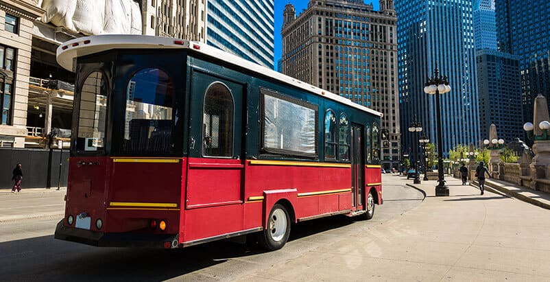 Chicago Trolley Accident Attorneys Bus and Boat Tour Accident Cases
