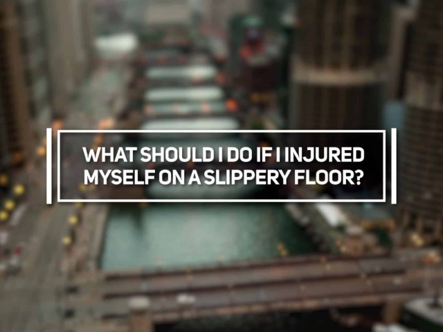 What Should I Do if I Injured Myself on a Slippery Floor?